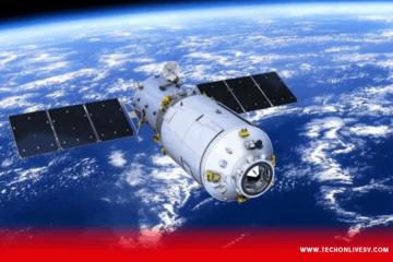 China, estacion espacial, oceano pacifico, tiangong